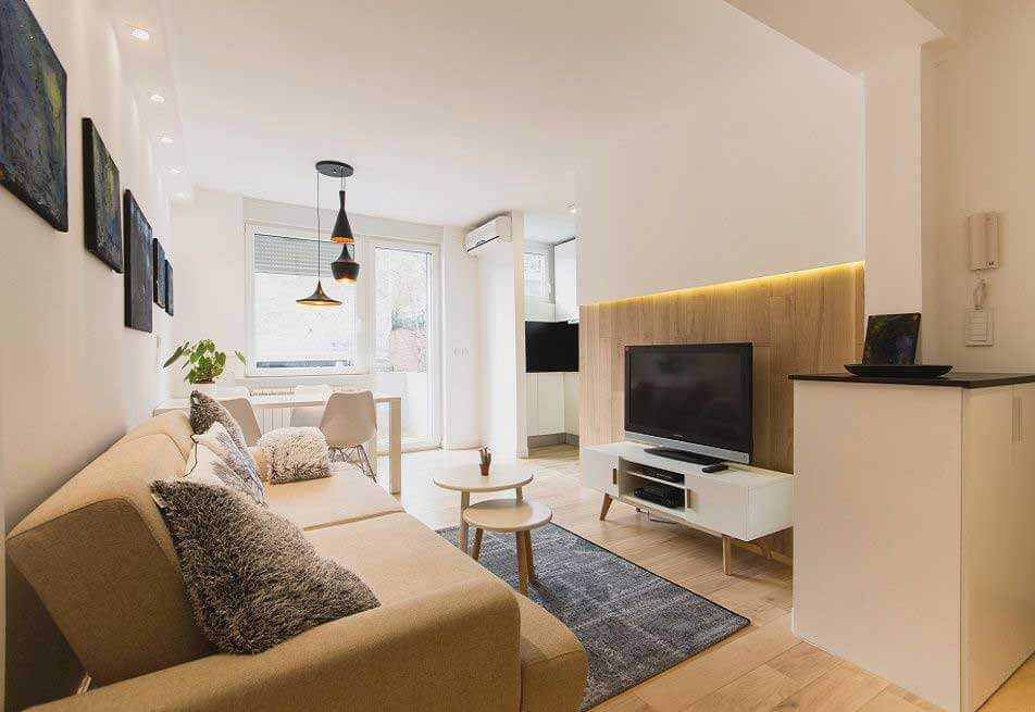 Mesecni apartmani u Beogradu